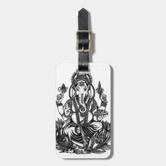 Ganesh Luggage Tag