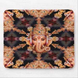 Ganesh Mandala Mouse Pad