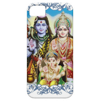 Ganesh, Shiva and Parvati, Lord Ganesha, Durga iPhone 5 Cover