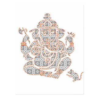 Ganesh Strength Postcard