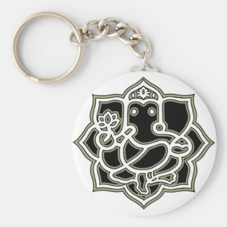 Ganesh the giver of Success Key Ring