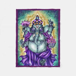 """""""Ganesha"""" Fleece Blanket"""