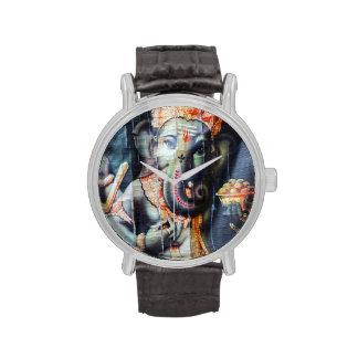 Ganesha Hindu elephant god of success Wristwatches