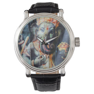 Ganesha Hindu elephant god of success Wristwatches