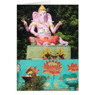 Ganesha in Mae On, Thailand Card