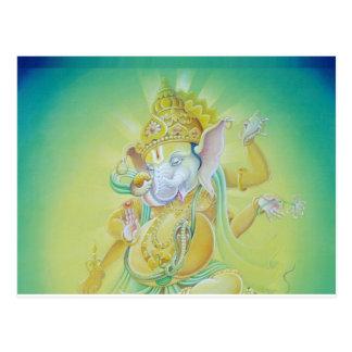 Ganesha Luv Postcard