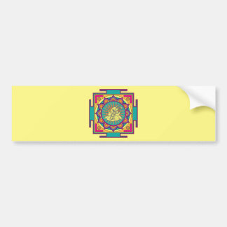 Ganesha Mandala Bumper Sticker