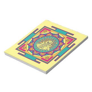 Ganesha Mandala Notepad