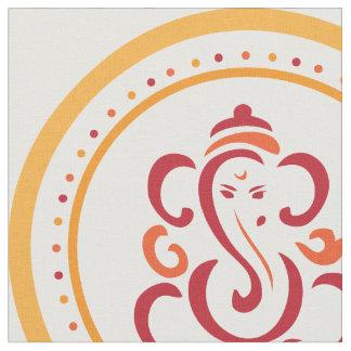 Ganesha Mandala Seamless Pattern Fabric