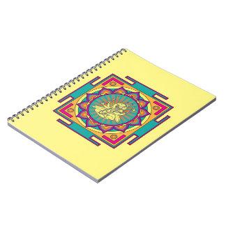 Ganesha Mandala Spiral Notebook