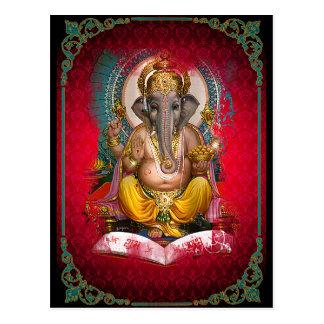 Ganesha - Postcard