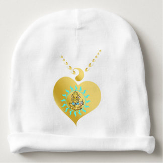 Ganesha: remover of obstacles baby beanie