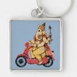 Ganesha Riding a Scooter