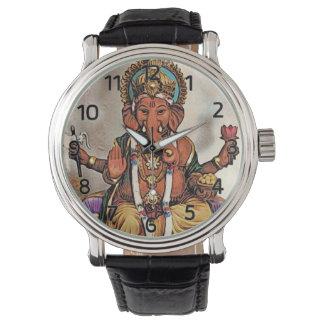 Ganesha Watch (with Roman Numerals)