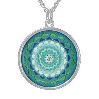 Ganesha's Mandala Sterling Silver Necklace