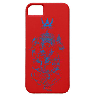 ganeshiya (blue) iPhone 5 cover