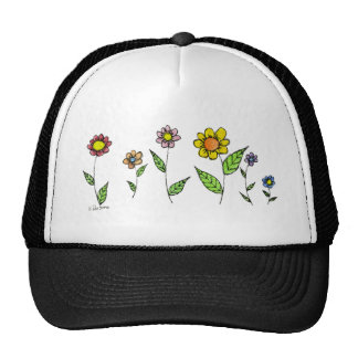 Gang-o-Flowers Mesh Hats