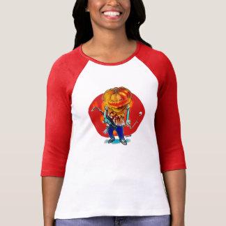 gang squad member pumpkin head T-Shirt