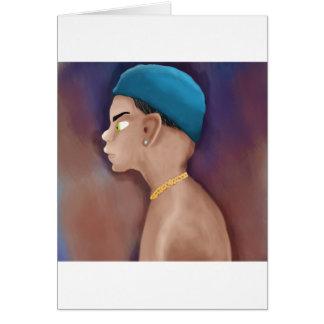 Gangsta boy card