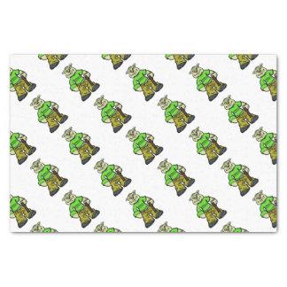 Gangsta dog tissue paper