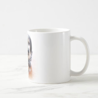 Gangsta Dog Wearing Hoodie Coffee Mug