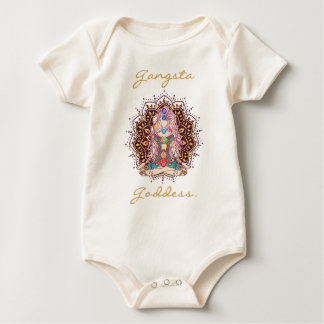 Gangsta Goddess - 24 Month Baby Organic Bodysuit