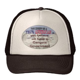 gangsta government mesh hats