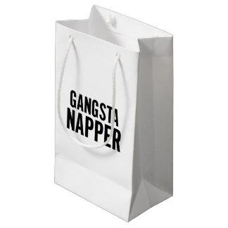 Gangsta Napper Small Gift Bag