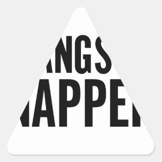 Gangsta Napper Triangle Sticker