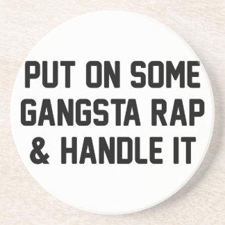 Gangsta Rap & Handle It Coaster
