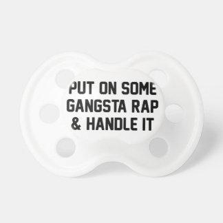 Gangsta Rap & Handle It Dummy
