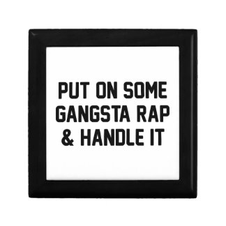 Gangsta Rap & Handle It Gift Box