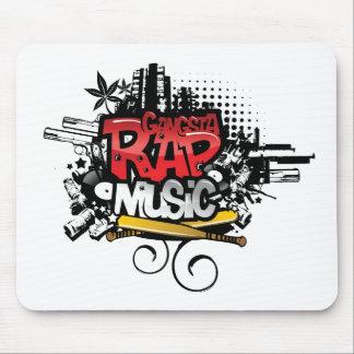 Gangsta Rap Music Mousepads
