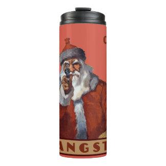 Gangsta Santa custom name tumbler