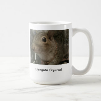 Gangsta Squirrel mug