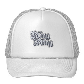 Gangsta Thug Bling Glitter Graphic Comments | Grap Trucker Hat
