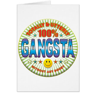 Gangsta Totally Card