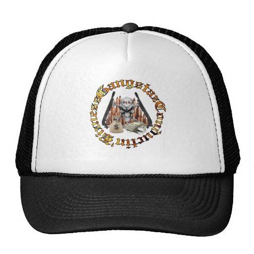 Gangstaz Conductin' Bizness Seal Trucker Trucker Hat