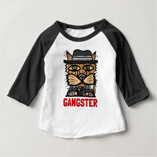 """Gangster"" Baby 3/4 Raglan T-Shirt"