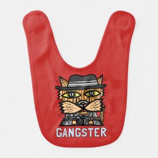 """""""Gangster"""" Baby Bib"""