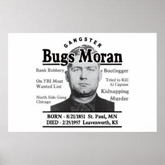 Gangster Bugs Moran Print
