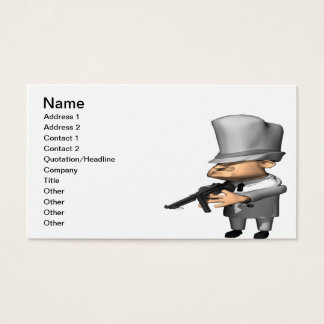 Gangster Business Card