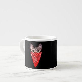 gangster cat - bandana cat - cat gang
