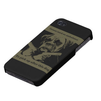 gangster dog iphone case cases for iPhone 4