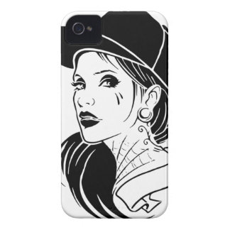 Gangster Girl iPhone 4 Cover
