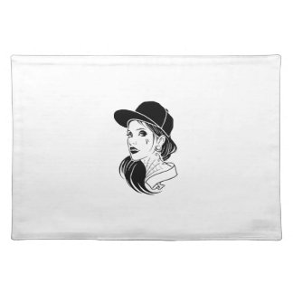 Gangster Girl Placemat