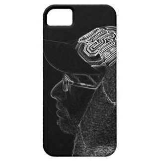 gangster in the dark iPhone 5 cover