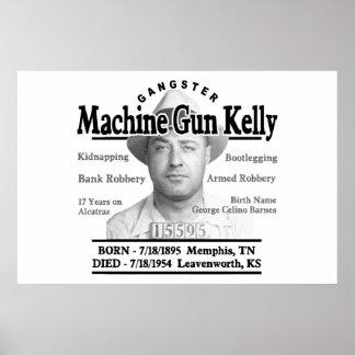 Gangster Machine Gun Kelly Poster