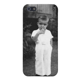 Gangster Smoke Old School iPhone 5/5S Cover
