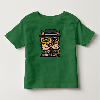 """""""Gangster"""" Toddler Fine Jersey T-Shirt"""